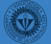 Sceau d'or de l'association canadienne de la construction